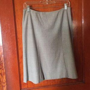 J Crew Wool A-line Skirt